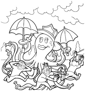 Fire Safe Friends Colouring Book